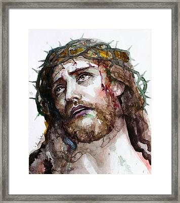 The Suffering God Framed Print