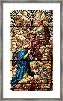 Jesus With The Crown Framed Print by Adam Jewell