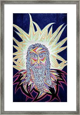Jesus Year 2000 Framed Print