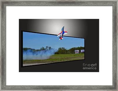 Jet 3d Framed Print