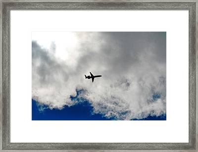 Jet Airplane Framed Print