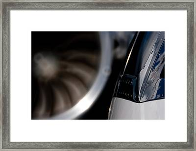 Jet Power Framed Print by Paul Job