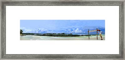 Jet Skis In Longboat Pass Framed Print