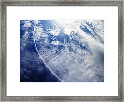 Look At That Sky Framed Print