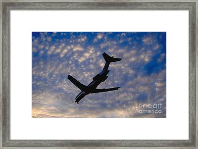 Jet Take Off Framed Print by Will and Deni McIntyre