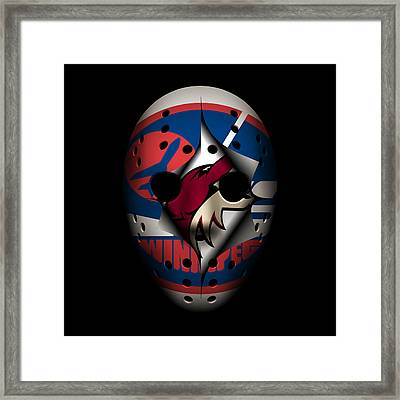 Jets Become Coyotes Framed Print