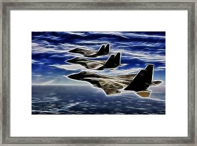 Jets Framed Print by Maciek Froncisz