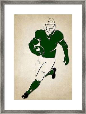 Jets Shadow Player Framed Print by Joe Hamilton