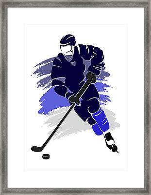 Jets Shadow Player2 Framed Print by Joe Hamilton