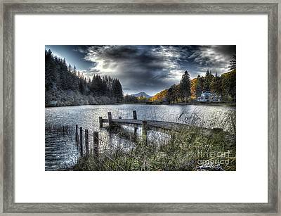 Jetty Blues Framed Print