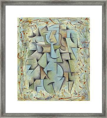 Jeune Fille Framed Print