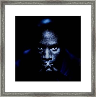 Jevon Blue Framed Print