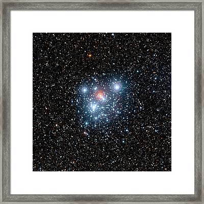 Jewel Box Star Cluster Framed Print by European Southern Observatory