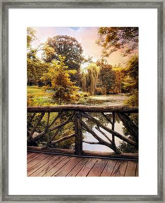 Jewel In The City Framed Print by Jessica Jenney