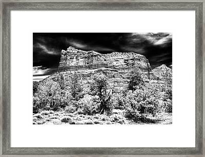 Jewel In The Desert Framed Print by John Rizzuto