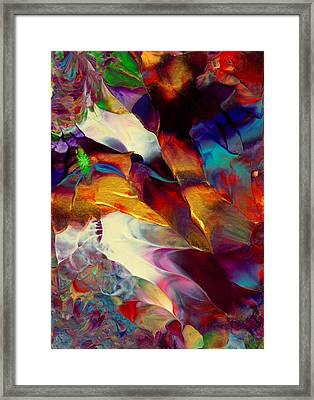 Jewel Island Framed Print