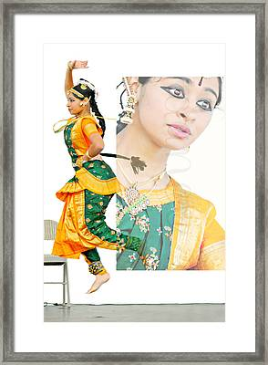 Jewel Of India Framed Print by Diana Angstadt