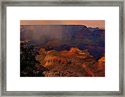 Jewel Of The Grand Canyon Framed Print