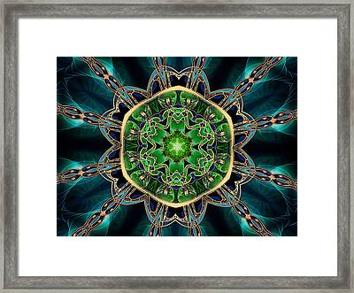 Jewel Of The Nile Framed Print