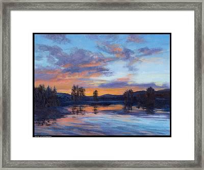 Jewel Sky Framed Print