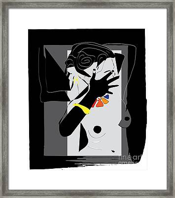 Jeweler's Lover   Framed Print by Frank  Gulsftream