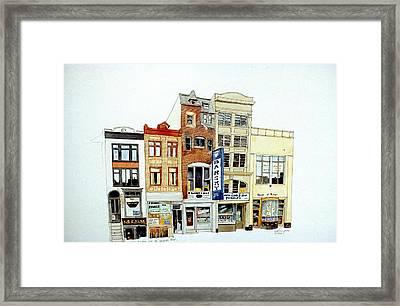 Jeweler's Row Framed Print