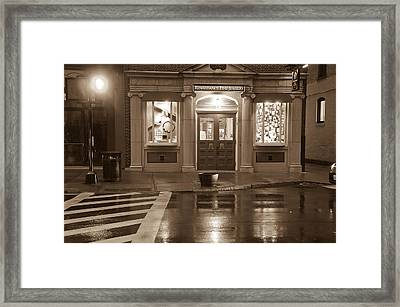 Jewelry Shop Framed Print by Paul Miller