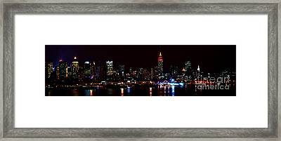 Jewels In The City  Framed Print