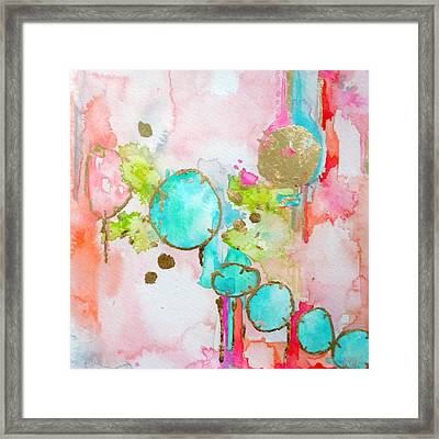 Jewels Framed Print by Roleen  Senic