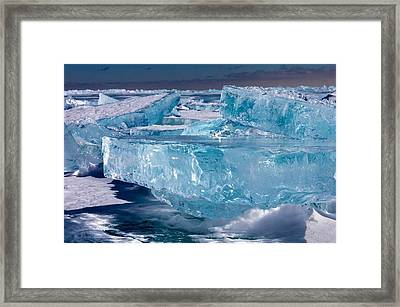Jewels Of Superior Framed Print
