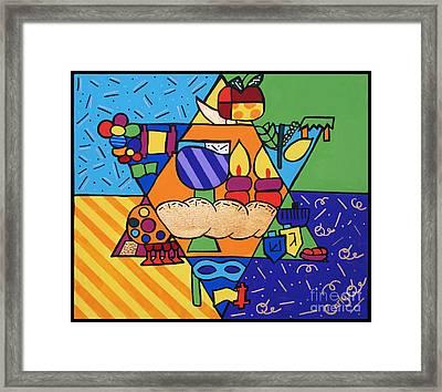 Jewish Year Framed Print