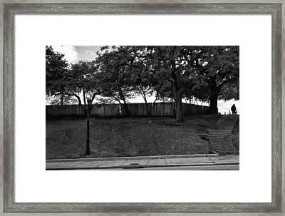 Jfk The Grassy Knoll 1963 Framed Print by William Jones