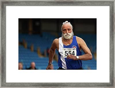 Jhalman Singh Framed Print by Alex Rotas