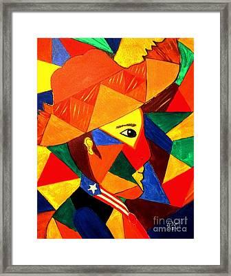 Jibarito Framed Print by Julie Crisan
