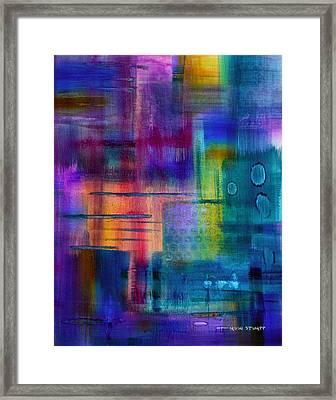 Jibe Joist II Framed Print by Moon Stumpp