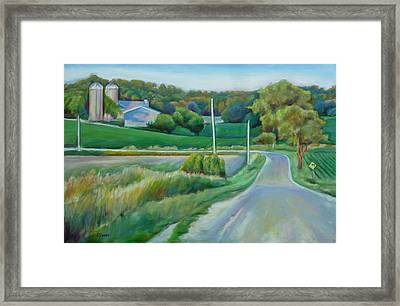 Jigs Hollow Framed Print