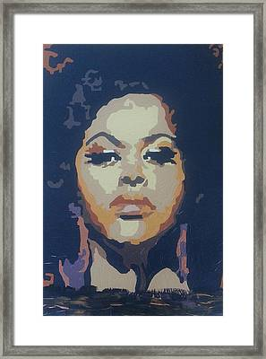 Jill Scott Framed Print