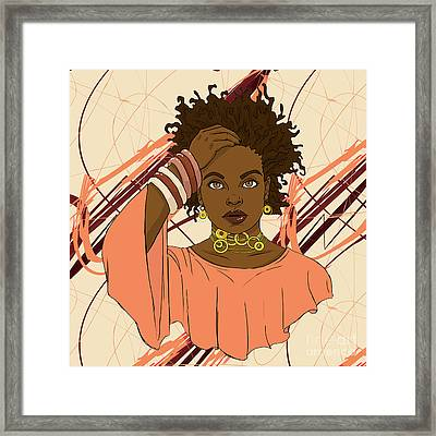Jilly From Philly Framed Print