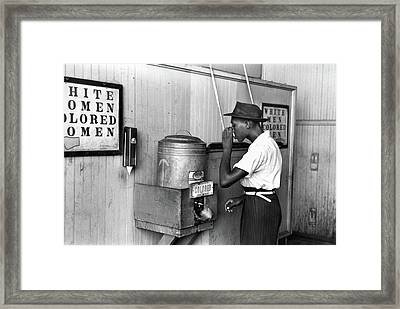 Jim Crow Laws, 1939 Framed Print