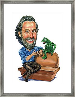 Jim Henson Framed Print by Art
