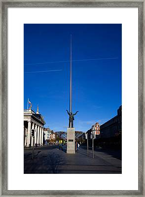 Jim Larkin Statue, Dublin, Ireland Framed Print by Panoramic Images