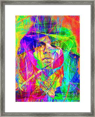 Jim Morrison 20130613 Framed Print by Wingsdomain Art and Photography