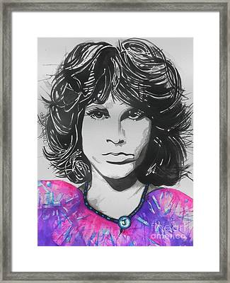 Jim Morrison Framed Print by Chrisann Ellis