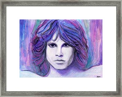 Jim Morrison Framed Print