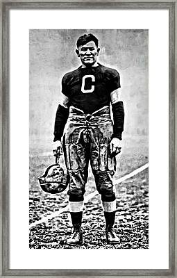 Jim Thorpe Framed Print