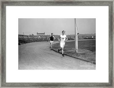 Jim Thorpe Framed Print by Granger