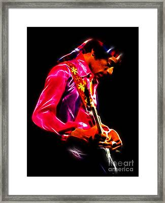 Jimi Hendrix 1 Framed Print