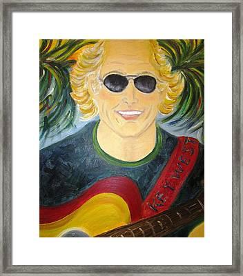 Jimmy Buffet Framed Print