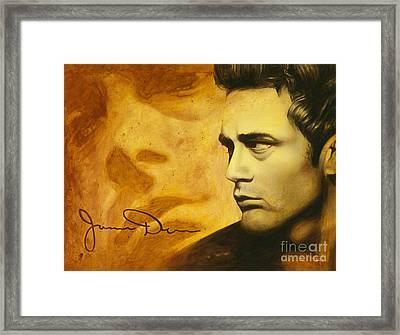 Jimmy Dean Framed Print by Scott Spillman