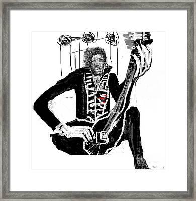 Jimmy Hendrix Framed Print by Rc Rcd